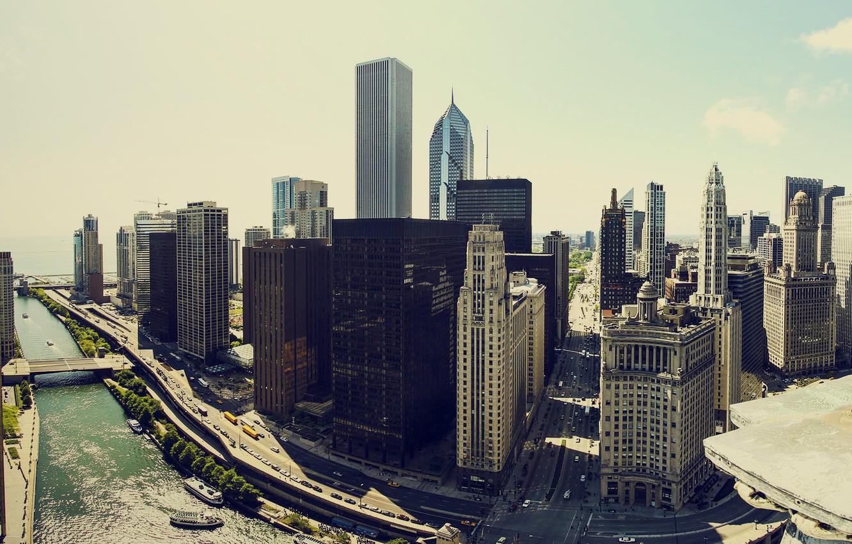 Обои небоскребы, чикаго, america, америка, chicago, здания. Города foto 17