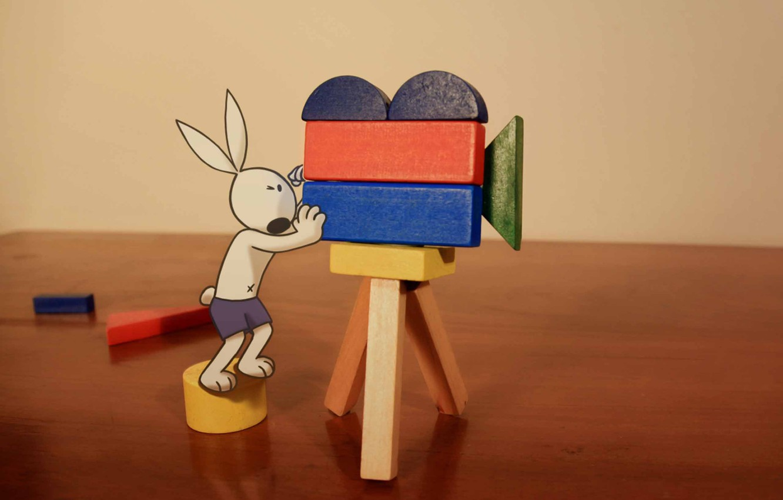 Фото обои rabbit, dog, Cartoon, Kungfu Bunny