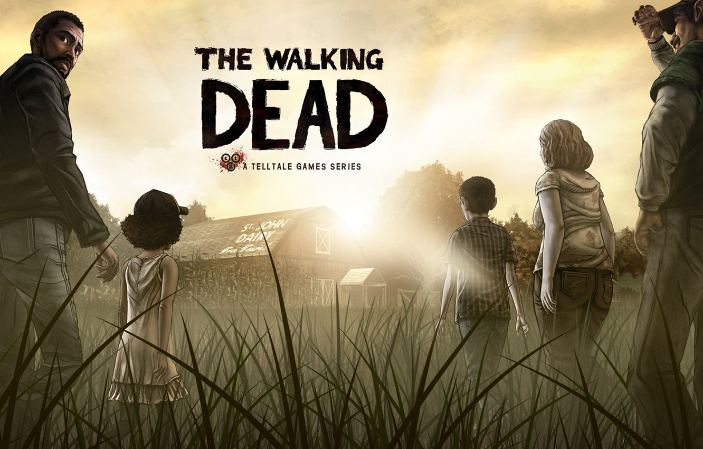 Фото обои игра, зомби, The Walking Dead, The Walking Dead: The Game, Telltale Games