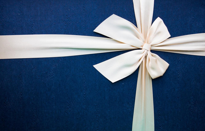 Фото обои коробка, подарок, минимализм, текстура, бант, box, minimalism, gift