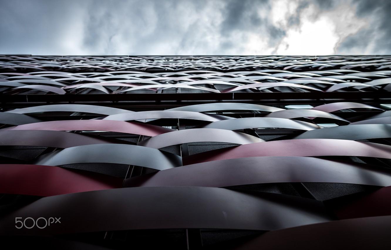 Фото обои вверх, япония, здание, город сохранить