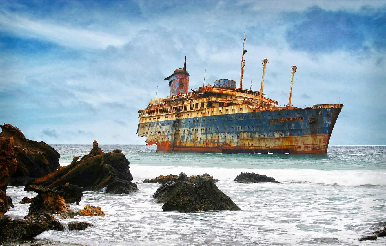 Фото обои пейзаж, Fuerteventura, American star