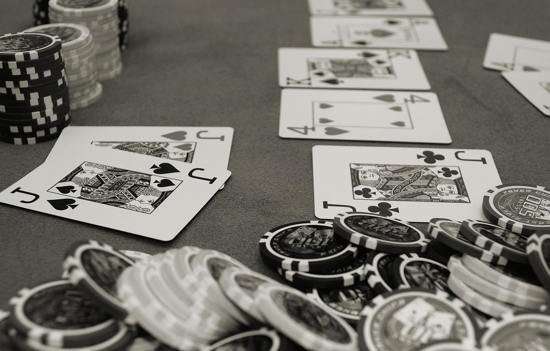 Фото обои карты, серый, покер