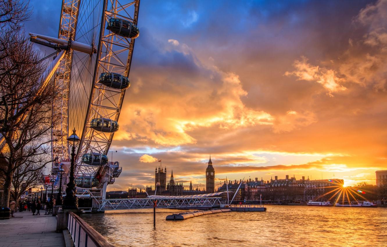 Обои london, Sunset. Города foto 6