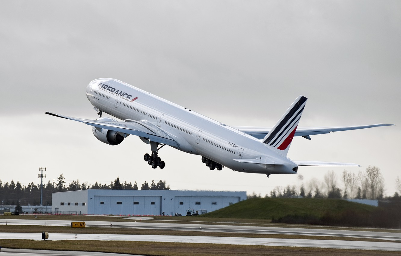 Обои 777, пассажирский, Самолёт, авиалайнер, боинг, boeing, 300. Авиация foto 8
