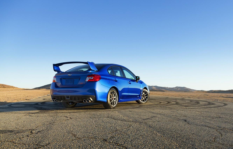 Фото обои Subaru, WRX, STI, 2015