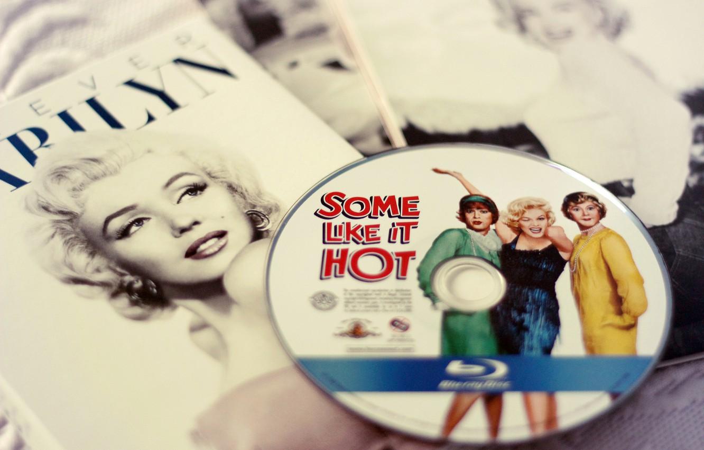 Фото обои диск, Мэрилин Монро, В джазе только девушки