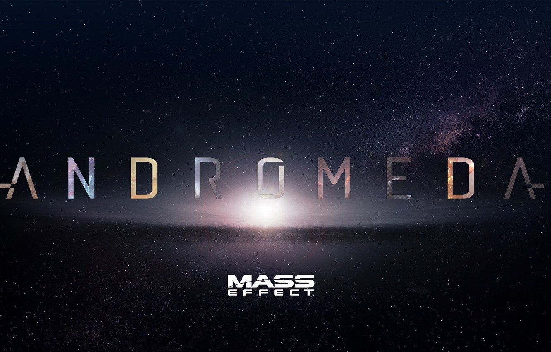Фото обои космос, звезды, mass effect, bioware, andromeda, Mass Effect: Andromeda