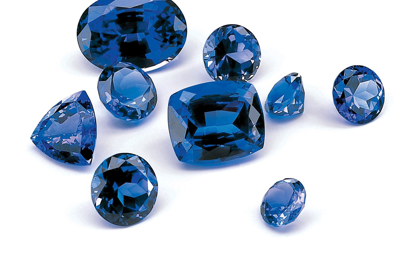 Фото обои синий, драгоценный камень, сапфир