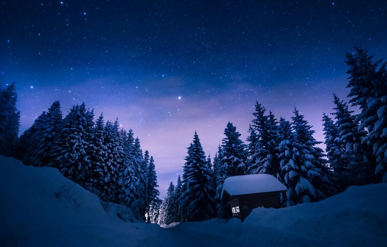 Обои ночь, Пейзаж. Пейзажи foto 8