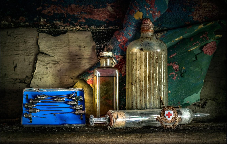 Обои инъекция, иглы, аптека, Red cross. Разное foto 6