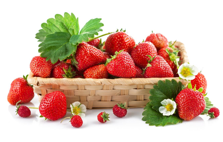 Фото обои ягоды, земляника, клубника