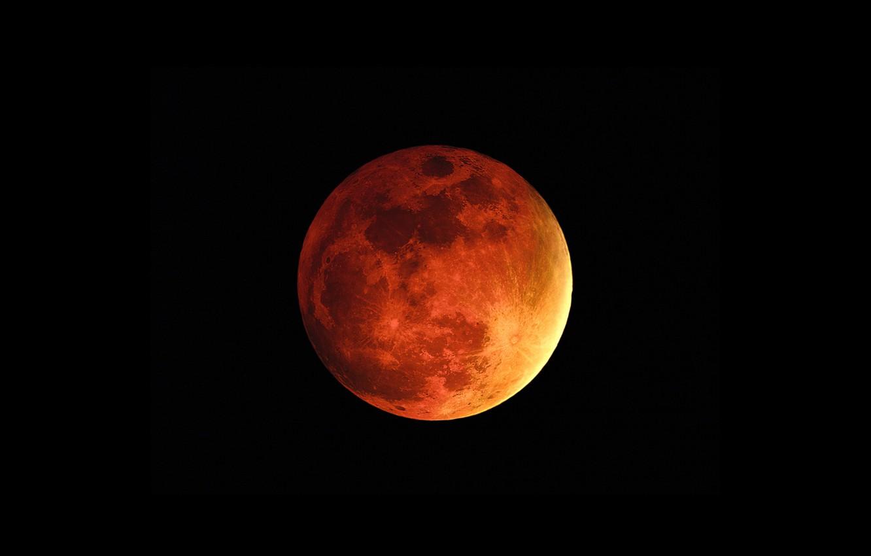Фото обои космос, спутник, Луна