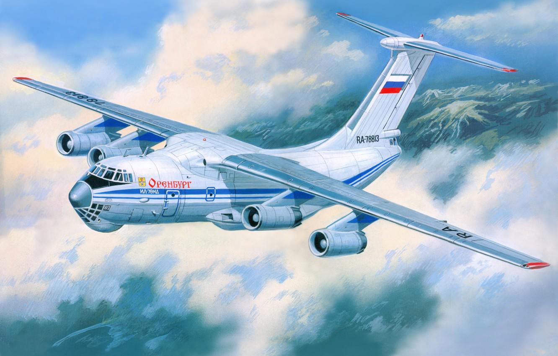 Обои Самолёт, транспортный. Авиация foto 7