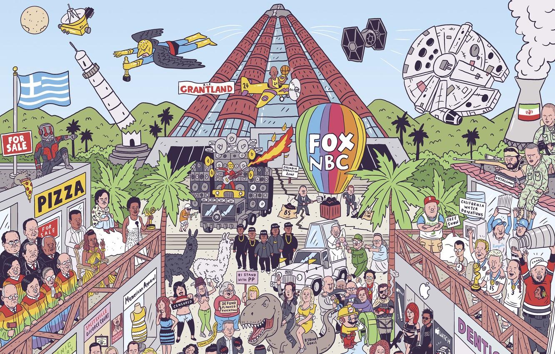 Фото обои знаменитости, Лиса, Fox, love, вечеринка, пицца, party, веселье, новости, pizza, all, все, fun, news, celebrities, …