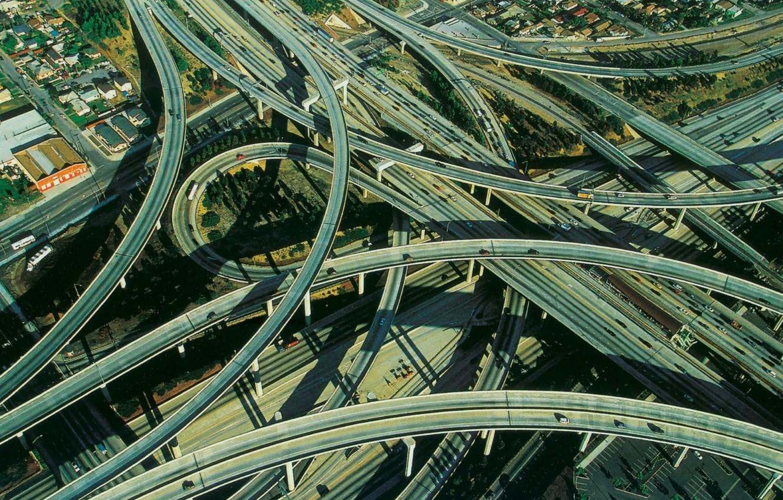 Обои дороги, машины, перекрёстки. Разное foto 9