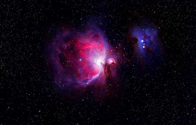 Фото обои звёзды, туманность ориона, Orion Nebula