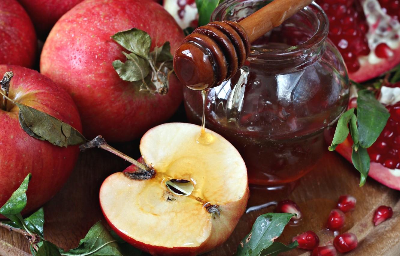 Движения, открытки с медом фруктами