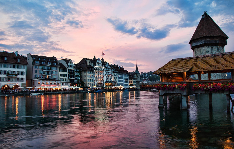 Обои люцерн, швейцария. Города foto 8