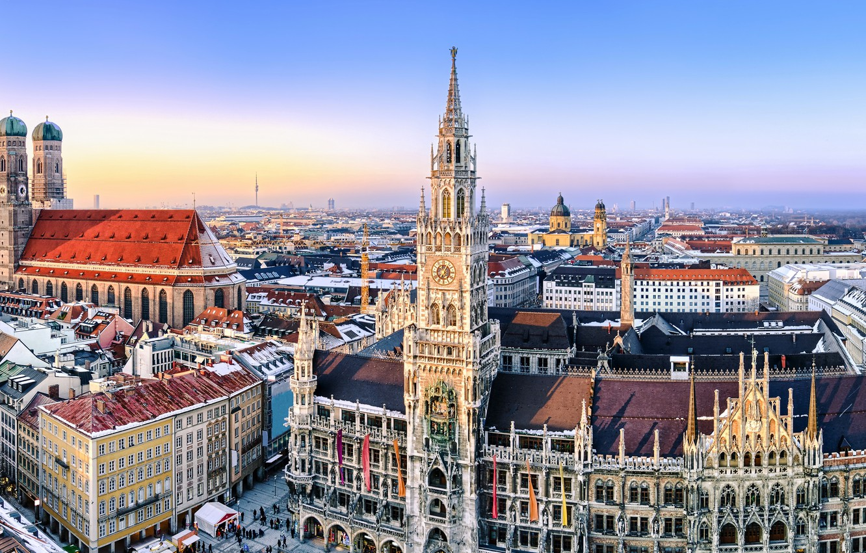 Обои мюнхен, здания, крыши, Munich, Germany, германия. Города foto 11