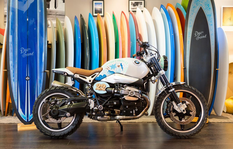 Фото обои Concept, BMW, Мотоцикл, Сбоку, 2015, Path, 22