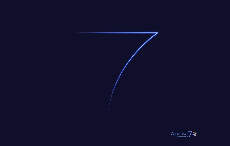 Фото обои компьютер, обои, логотип, windows 7, эмблема, операционная система