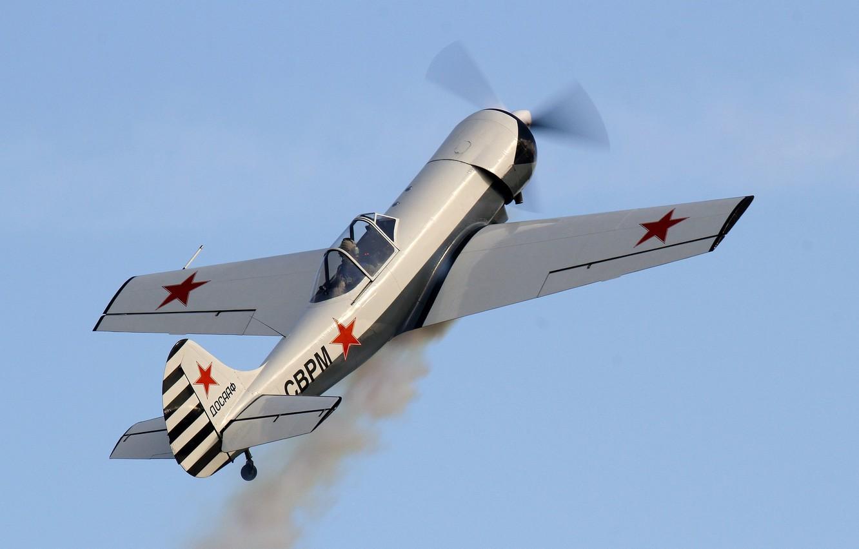 Обои historical, советский, military, club, як-9у, Самолёт. Авиация foto 16