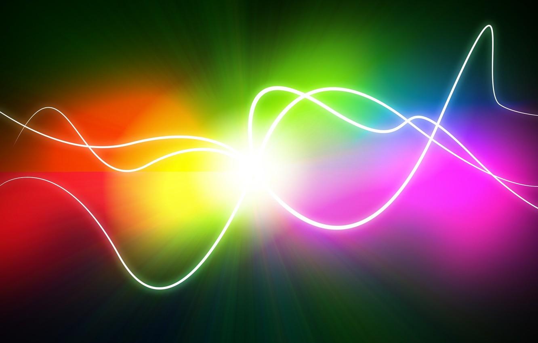 Фото обои линии, цвет, точка