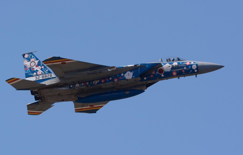 Обои Самолёт, f-15j. Авиация foto 8