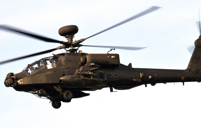 Обои ah-64 «апач», основной, ударный, apache. Авиация foto 9