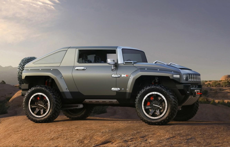 Фото обои внедорожник, Hummer, HX Concept