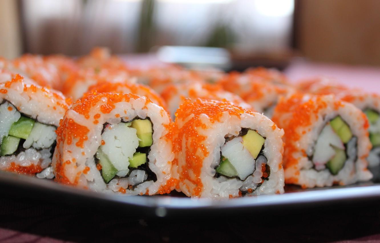 Фото обои япония, еда, sushi, суши
