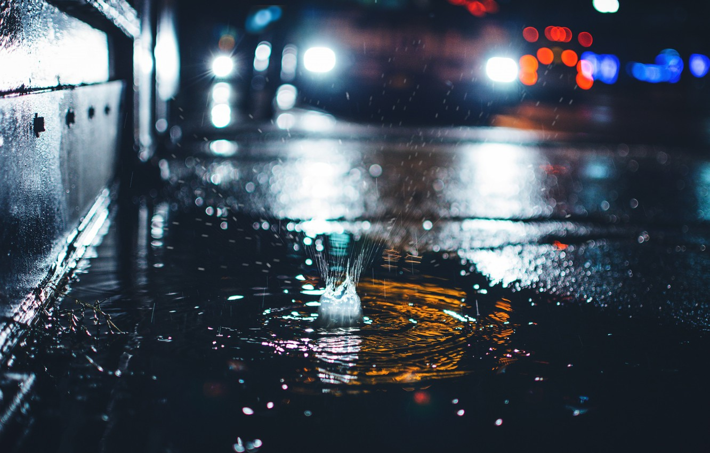 может картинки с дождем и лужами катя снялась