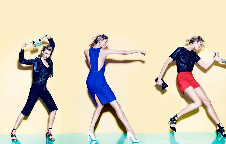 Фото обои фотосессия, бренд, Karlie Kloss, Tamara Mellon