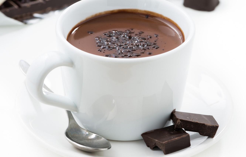 Фото обои чашка, напиток, горячий шоколад