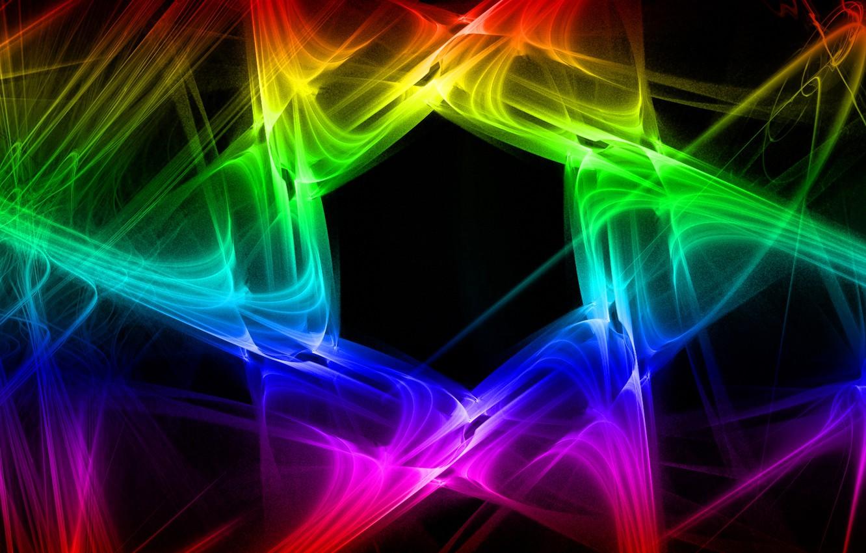 Обои дым, свет, Цвет, фрактал. Абстракции foto 11