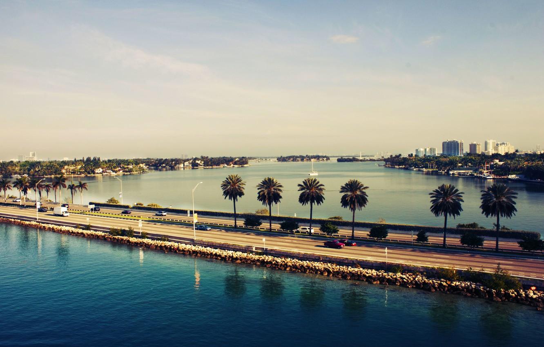 Обои america, сша, miami, америка, miami beach, Вода. Города foto 6
