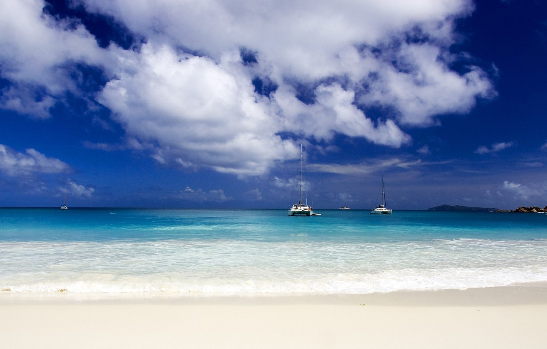 Фото обои песок, океан