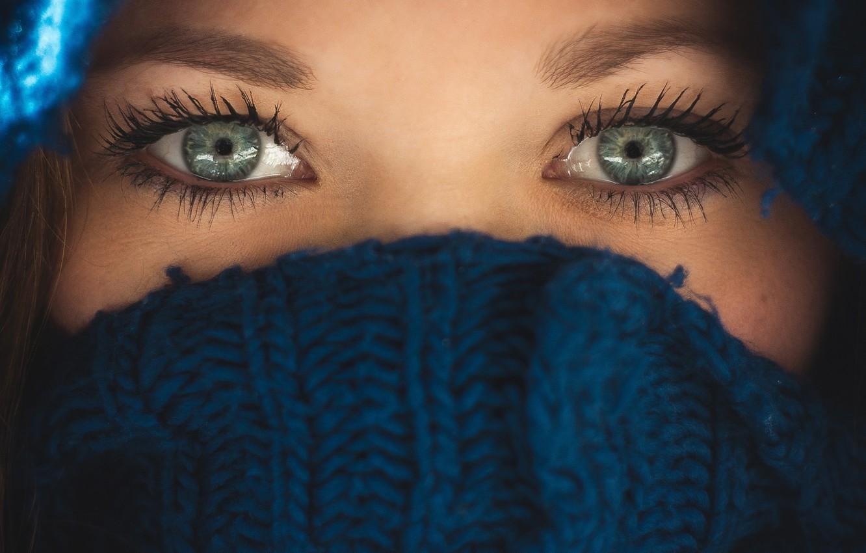 фото синих глаз без лица этот