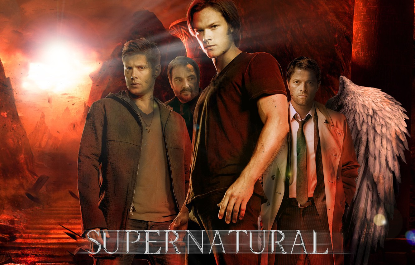 Фото обои supernatural, dean winchester, sam winchester, hell, dreampiks