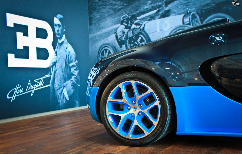 Фото обои Bugatti, Veyron, Этторе Бугатти, Grand Sport Vitesse, Ettore Arco Isidoro Bugatti, Основатель Бугатти