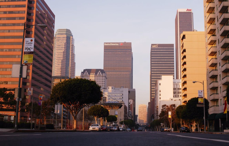 Фото обои city, город, USA, Los Angeles, California