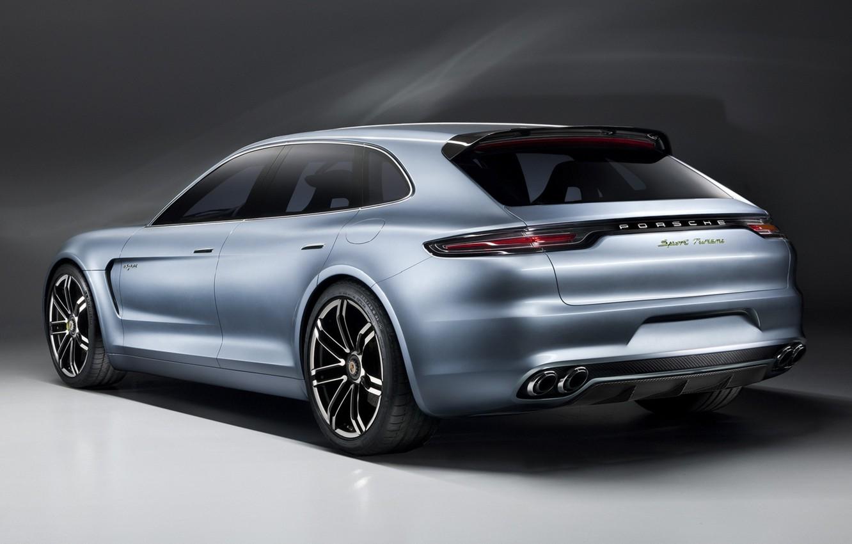 Фото обои Porsche, Спорт, Концепт, Panamera, Turismo, Sport, Панамера, Туризмо, Concept Порше
