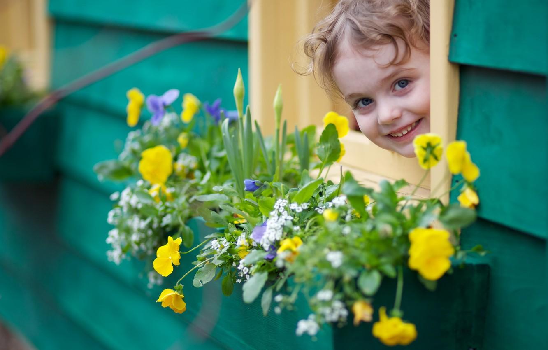 Обои настроение, Девочка, цветок. Настроения foto 12
