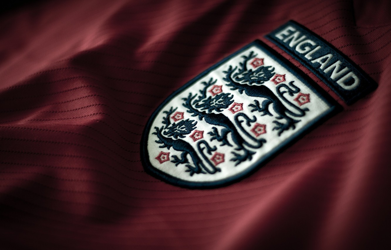 Фото обои logo, football, England, t-shirt