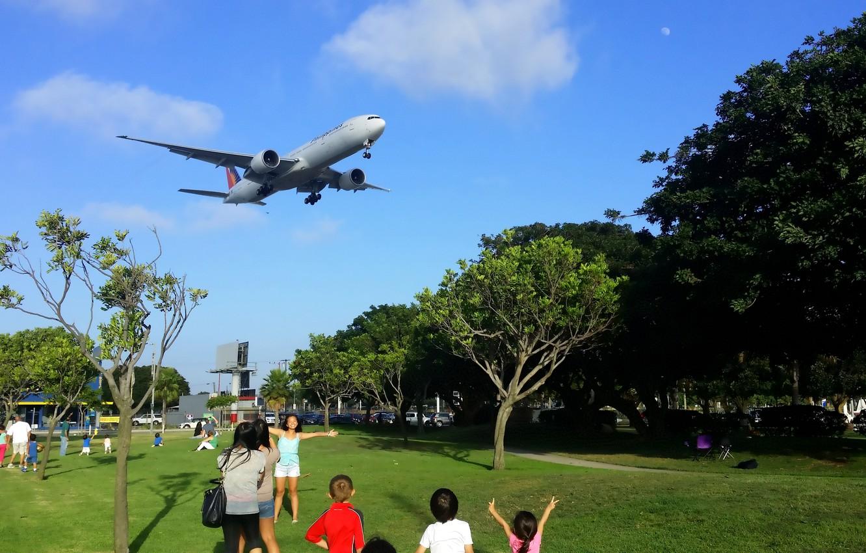 Обои 777, авиалайнер, philippines, боинг, 300, boeing, пассажирский. Авиация foto 8