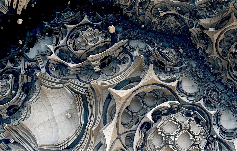 Обои абстракция, Fractal, форма. Абстракции foto 9