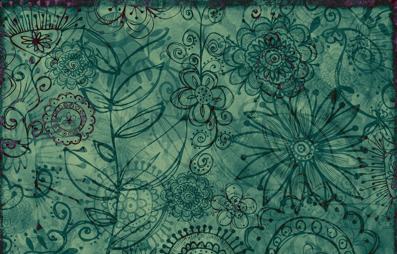 Фото обои цветы, фон, текстура