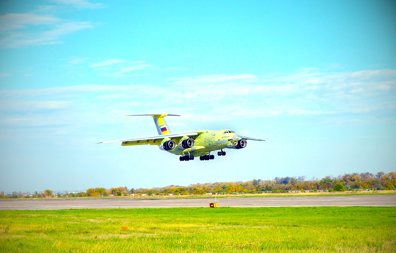 Обои Самолёт, Il-76, ВВС Украины, Ильюшин, Военно-транспортный. Авиация foto 10