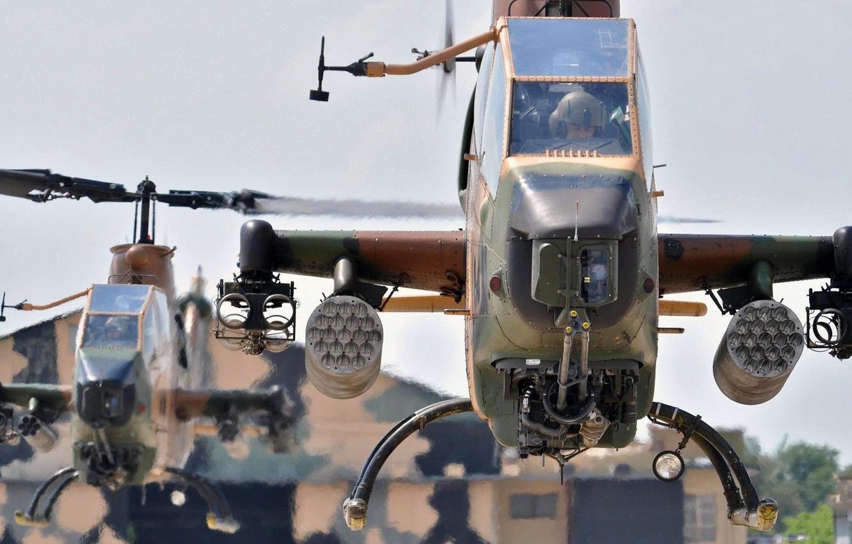 Обои ударный, Ah-1s, многоцелевой, cobra. Авиация foto 10